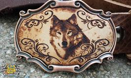 "Pergament Kupfer ""Wolf"""