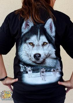 """T-Shirt """"Wolf im Schnee"""""""