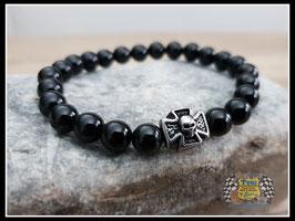 Black Pearl Cross-Skull
