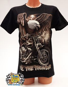 "T-Shirt ""Feel The Thunder"""