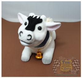 Wackel-Kuh liegend