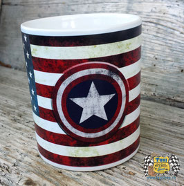"Tasse ""USA Flag/Captain"""