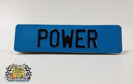 CH-Schild vorne 30 x 8cm Blau/Schwarz