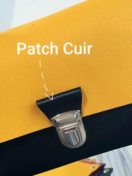 Choisissez la couleur du Patch Cuir - Sac SCHOOL