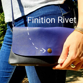Rabat de sac Emy : Finition Rivet