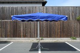 Rechteckieger Alu Schirm 2,5 x 2,5 Meter mit 10 Streben