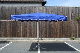 Rechteckieger Alu Schirm 2,0 x 2,0 Meter mit 10 Streben
