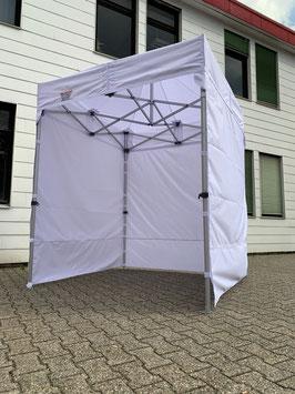 Faltzelt 2 x 2 Meter Aluminium Zeltbeine Hexagonal