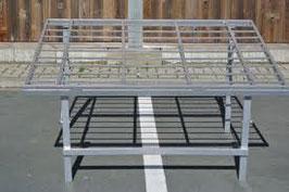 Aluminium Schrägtisch 1,5 Lang  x 1,2 Meter Breit