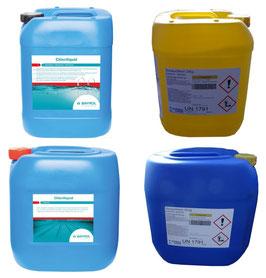 Chloriliquid - flüssiges Chlor