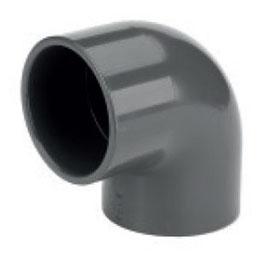 PVC-Winkel 90 Grad