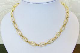 Collier goud gedraaid