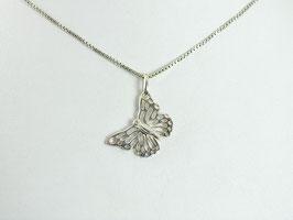 Vlinder met zirkonia