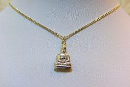 Hanger zilver boeddha