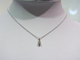 Anker collier met diamant