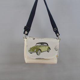 008 Chameleon Bag - Deckel für Segeltuchtasche - UNIKAT