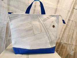 001 Back Bag Shopper - Segeltuchtasche - UNIKAT
