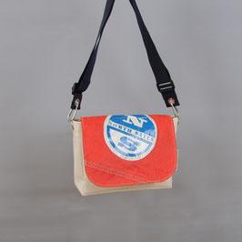 004 Chameleon Bag - Deckel für Segeltuchtasche - UNIKAT