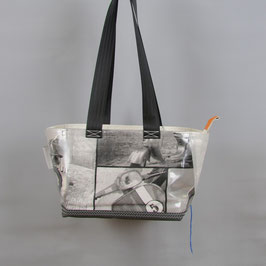 007 Happy Bag - Segeltuchtasche - UNIKAT