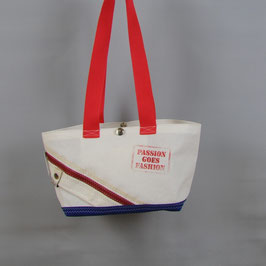 004 Happy Bag - Segeltuchtasche - UNIKAT