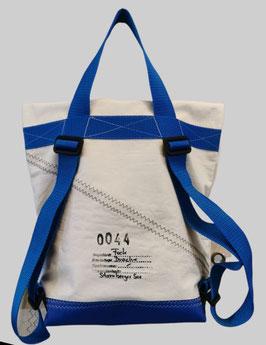 006 Back-Bag - Segeltuchtasche - UNIKAT