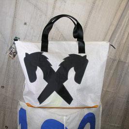 004 Shopper XL - Segeltuchtasche - UNIKAT