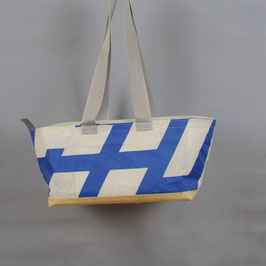 001 Happy Bag - Segeltuchtasche - UNIKAT