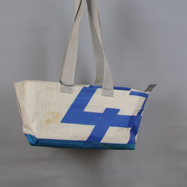 002 Happy Bag - Segeltuchtasche - UNIKAT