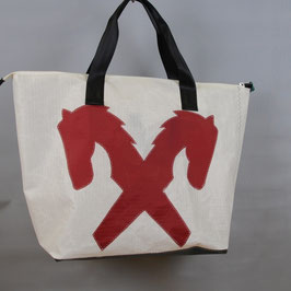 001 - Shopper XL - Segeltuchtasche - UNIKAT