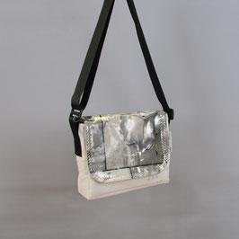 005 City Bag - Segeltuchtasche - UNIKAT