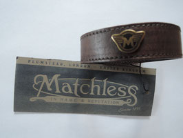 Matchless Armband  braclet brown unisex