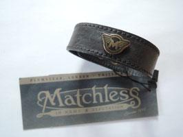 Matchless Armband  braclet black unisex