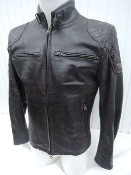 Matchless Osborne quilted Blouson Antique black