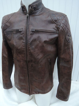 Matchless Osborne quilted Blouson Antique brown