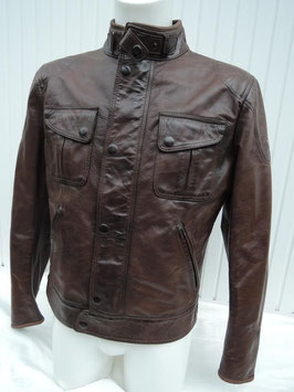 Matchless SILVERSTONE / MICK Blouson Winter Antique brown / blackbrown