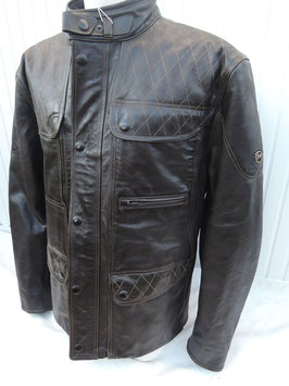 Matchless KENSINGTON quilted Jacket Winter Antique black- limited Edition