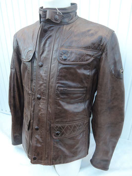 Matchless KENSINGTON quilted Jacket Winter blackbrown- limited Edition
