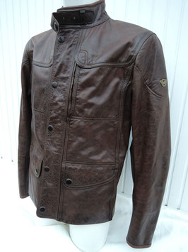 Matchless KENSINGTON Jacket Sommer antique brown / blackbrown