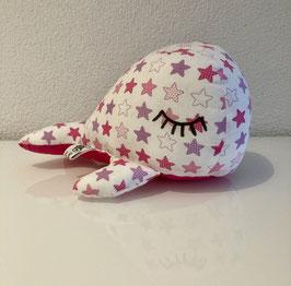 Kleiner Kuschelwal - pink