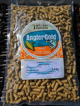 1,50 Kilo Mais-Lupine Mix 10 mm Pellets / Karpfenkiller / UNGLAUBLICHE WIRKUNG