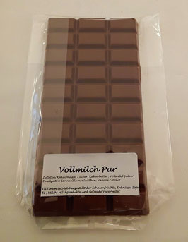 Vollmilchschokolade Pur