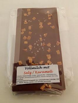 Vollmilchschokolade mit Salz/Karamell