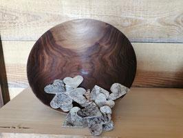 Schale aus Nussbaum geölt