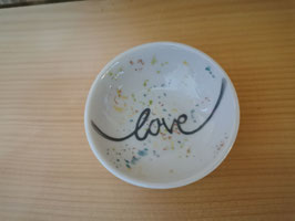 "Keks/Seifenschalen  ""Love"""