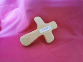 Kreuz / Handschmeichler aus Zirbe