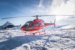 Alpenrundflug mit Gletscherlandung à 90 min
