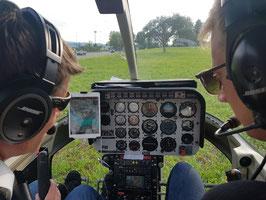 Schnupperflug Bell 206 / 1-4 Personen