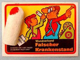 Bandage for a Finger