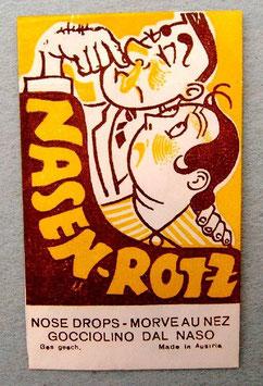 Nasenrotz - Imitation