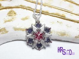 Wunderschöner kleiner Anhänger, 925er Silber Halskette